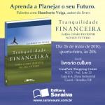 Palestra Tranquilidade Financeira em Brasília