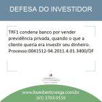Direito do Investidor: previdência privada em lugar de investimento pode gerar condenação